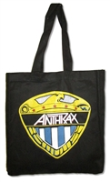 Anthrax Eagle Shield Gusseted Tote Bag