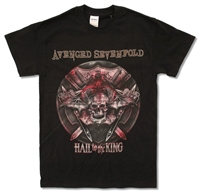 Avenged Sevenfold Battle Armor 2014 Tour Tee (Dawson Creek - Columbus)