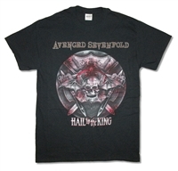 Avenged Sevenfold Battle Armor 2014 Tour Tee (San Bernadino - Woodlands)