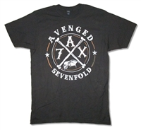 Avenged Sevenfold Crossing Over 2014 Tour 30/1 Tee