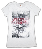 Avenged Sevenfold Spiderweb Junior Baby Doll