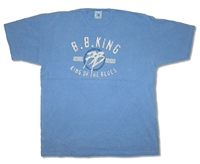 BB King 2004 Tour Sky Tee