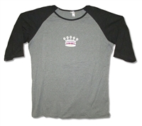 BB King Crown Logo Women's Raglan