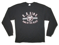 BB King King Of The Blues 2011 Tour Long Sleeve Tee