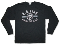 BB King King Of The Blues 2012 Tour Long Sleeve Tee