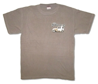 The Beach Boys Woody Logo 2007 Tour Tee
