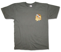 The Beach Boys Parrot Pocket Logo 2008 Tour Tee