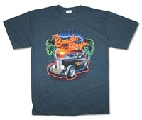 The Beach Boys Neon Logo & Palms 2009 Tour Tee