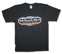 The Beach Boys 50 Years Of Fun 2014 Tour On Black Tee