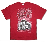 The Beach Boys Under The Hood 2014 Tour Tee (Boston - Omaha)