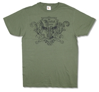 Boondock Saints Crest 30/1 Slim Fit Tee