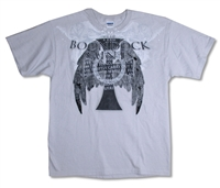 Boondock Saints Cross Tee (Light Gray)