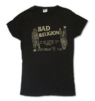 Bad Religion Country Club 30/1 Junior Baby Doll
