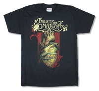 Bullet For My Valentine Heart Noose Tee