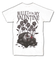 Bullet For My Valentine Dead Girl 30/1 Slim Fit Tee (Junior Style)