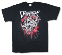 Bullet For My Valentine Fish Food 09 Tour Tee