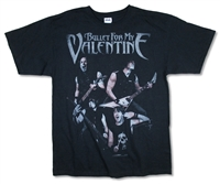Bullet For My Valentine Band Photo 2011 Tour Tee