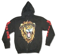 Big Sean Lion Zip Up Hooded Fleece
