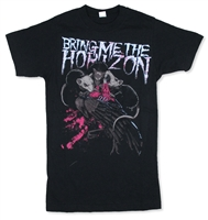 Bring Me The Horizon Rats 30/1 Slim Fit Tee