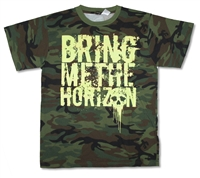 Bring Me The Horizon Camo Tee