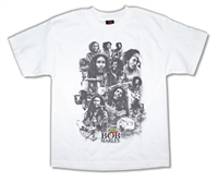 Bob Marley Face Collage Tee
