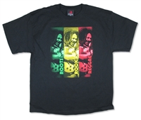 Bob Marley Roots Rock Reggae Blocks Tee