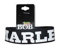 Bob Marley Stripes Silicone Wrist Band