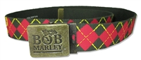 Bob Marley Exodus Canvas Belt