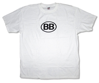 Breaking Benjamin BB Oval Logo Tee