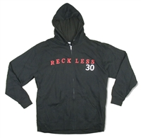 Bryan Adams Reckless 30 Zip Up Hooded Fleece