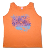Blake Shelton Flower Womens Tank Top
