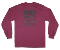 Bruce Springsteen Americanland 06 Tour Long Sleeve Tee