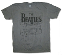 The Beatles Tickets All Over Print Tee