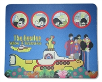 The Beatles Characters Mouse Pad