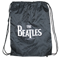 The Beatles Basic Logo Drawstring Bag