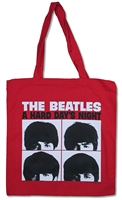The Beatles Hard Day's Night Tote Bag