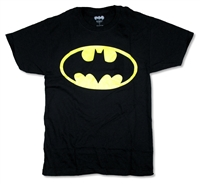 Batman Glow In The Dark Logo Tee