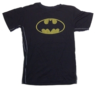 Batman Logo With Stitches Trunk LTD Youth Tee