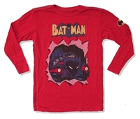 Batman Batmobile Trunk LTD Toddler/Youth Long Sleeve Tee