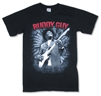 Buddy Guy Swirl 2011 Tour Tee (Salina - Helena)