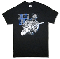Buddy Guy Blue & Gray Tour Tee (Huntsville - Primm)