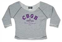 CBGB Underground Rock Terry Sweat Shirt
