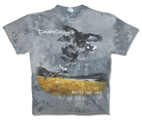 David Gilmour Rattle That Lock All Over Print Tie Dye Tee