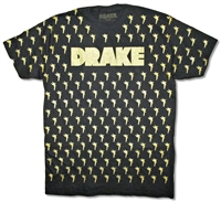 Drake Angels All Over Print Tee