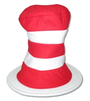 Dr. Seuss/The Cat In The Hat Stripes Top Hat