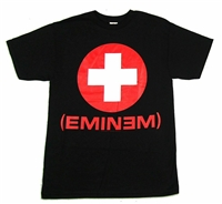 Eminem Recovery White Cross Tee
