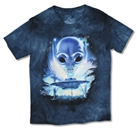 The Mountain UFO Tie Dye Youth Tee