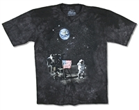 The Mountain Moonwalk Tie Dye Youth Tee