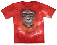 The Mountain Orangutan Tie Dye Youth Tee