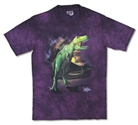 The Mountain T-Rex Volcano Tie Dye Youth Tee